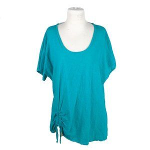 Oh My Gauze! 2XL Blue Top Tunic Cotton Lagenlook